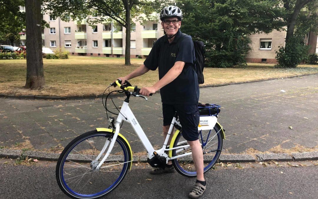 E-Bike im Einsatz